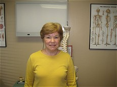 A patient of Dr. Johnson Dorothy Addoms giving a testimonial about her experience at Spine & Sports Therapy in florida